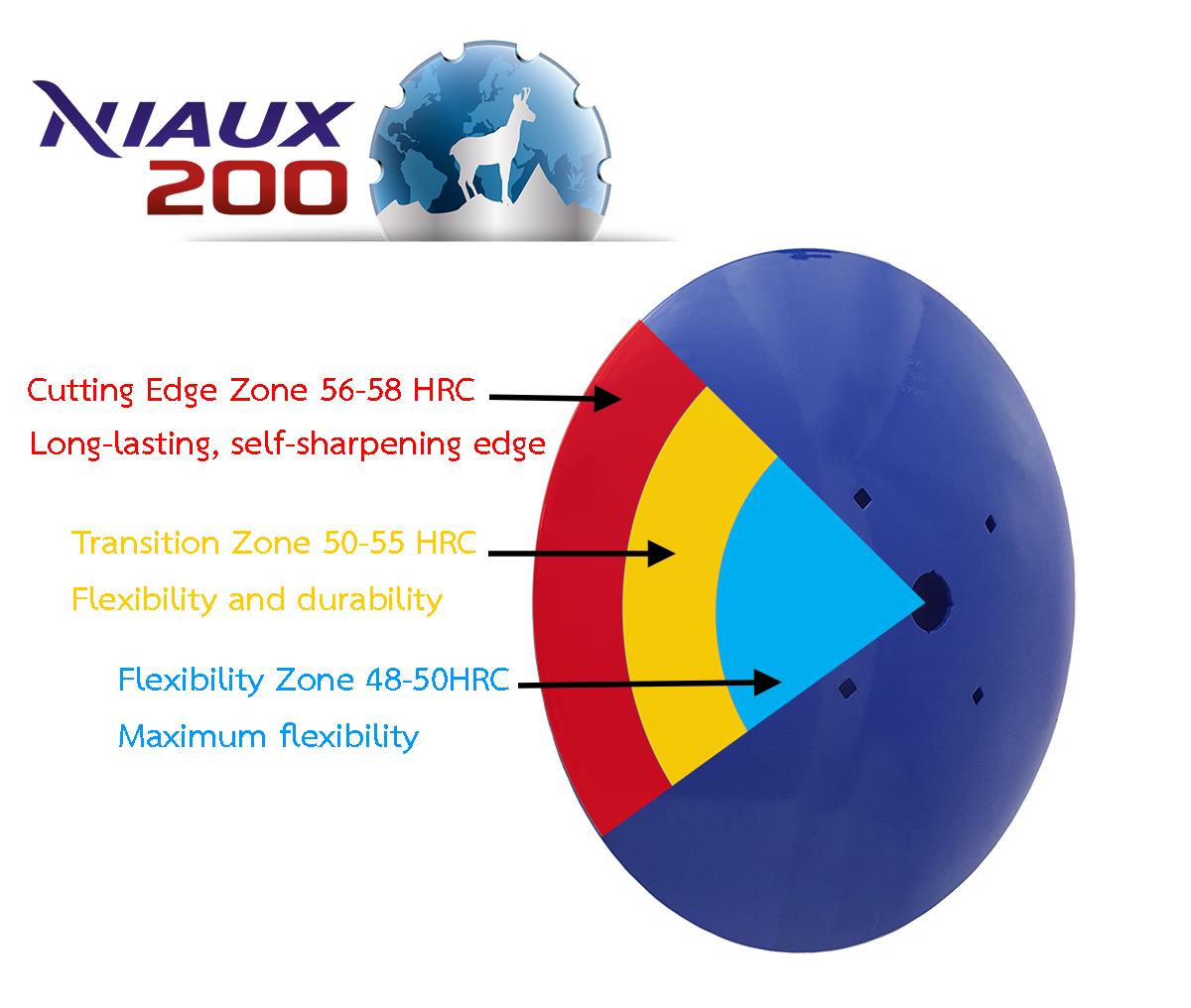 Niaux 200 disc characteristics